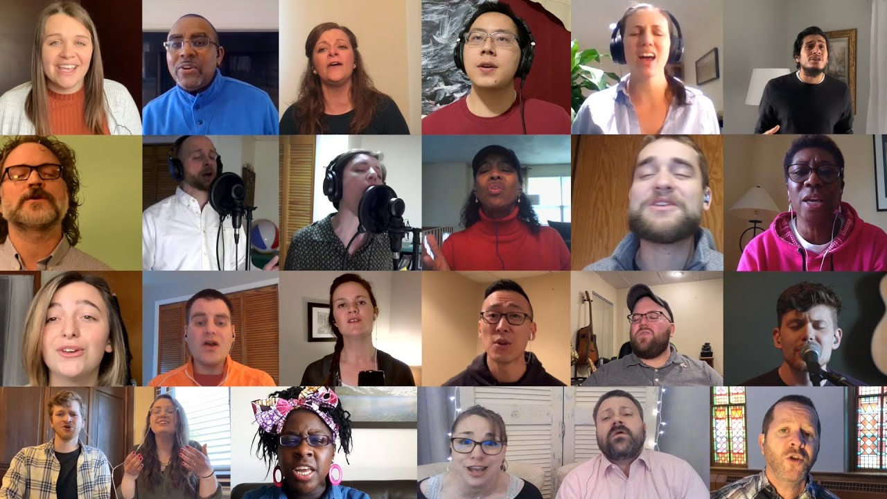Click Photo to Enlarge - The Virtual Choir!